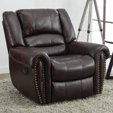 faux leather recliners chairs the