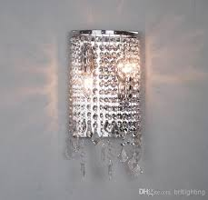 contemporary sconce lighting. Modern Crystal Wall Lamp Mirror Light Bathroom Contemporary  For Washing Room Sconce Lighting E
