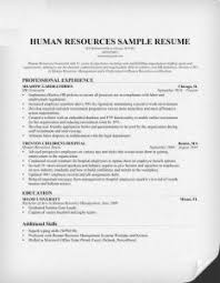 Hr Manager Resume Format Hr Manager Resume Sample Expert Resume