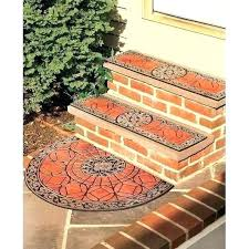 exterior rubber stair treads outdoor stair tread mats decorative outdoor stair treads fresh finds freshest finds