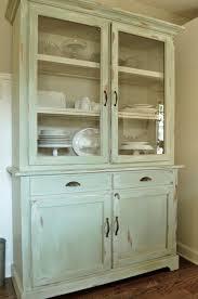 white kitchen hutch cabinet diy