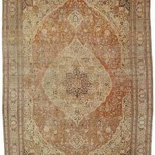 antique tabriz carpet persia