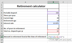 excel retirement spreadsheet excel retirement planner oyle kalakaari co