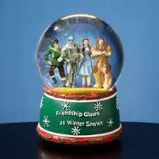 wizard of oz holiday friendship al water globe 52111 sorry sold out