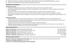 Impressive Idea Daycare Teacher Resume 8 Day Care Resume Example