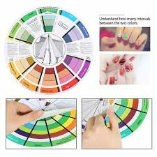 Tattoo Supplies Color Wheel Ink Chart Paper For Select Coloring Mix Professional Ebay