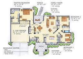 open floor plan house plans. Modren Floor Rear Floorplan For Open Floor Plan House Plans O