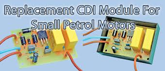silicon chip online replacement cdi module for small petrol motors