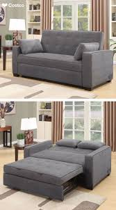 The Westport Fabric Sleeper Sofa in Charcoal Gray is sure to be a favorite  in any