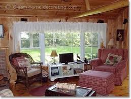 country cabin decor a log cabin in canada cabin decor curtains