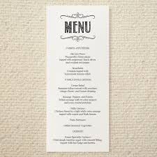 family menu template templates bridal shower menu templates bridal shower menu card