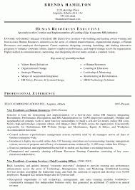 Sample Hr Resumes Experience Hr Resume Sample Lovely Good Hr Resumes Leoncapers Bizmancan Com