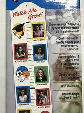 Watch Me Grow Growth Chart New Watch Me Grow Growth Chart With Picture Frames