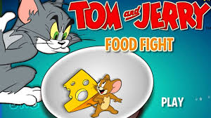 tom and jerry cartoon game hd food fight gameplay playing with jerry you