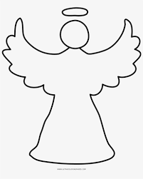 May 4, 2014 by kawarbir. Christmas Angel Coloring Page Xmas Angel Drawing Free Transparent Png Download Pngkey