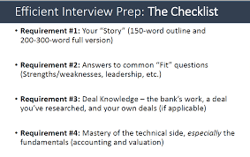 Accounting Interview Questions Investment banking interview questions A Quick Prep 24