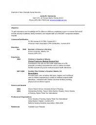 Nursing Resume Objectives Nursing Resume Objective Examples Nurse Skills Of Objectiv Sevte 61
