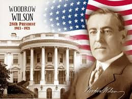 Image result for President Woodrow Wilson