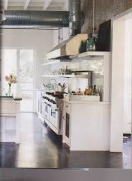 Concrete Floors In Kitchen House Beautiful Kitchen White With Gray Designs To Inspire