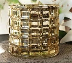 gold mercury glass bud vases cylinder vase save on crafts edited 1