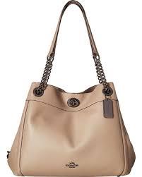 COACH - Turnlock Edie (Dk Ivy) Handbags