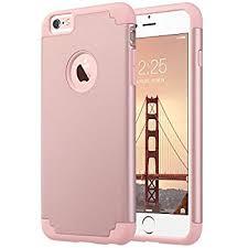 iphone 6 plus case. iphone 6 plus case, 6s ulak slim dual layer scratch protective iphone case e