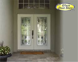 white front doorMarquise Beveled Traditional Glass Door