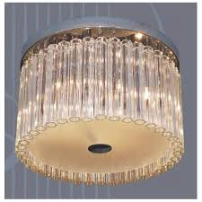 crystal round ceiling light led
