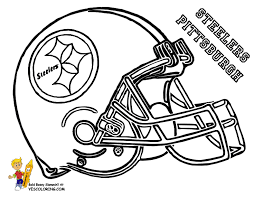 Small Picture AFC Football Helmet Coloring Football Helmet Free NFL