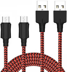 Micro <b>USB</b> Cable YOSOU Android Cable 2M 2Pack <b>Nylon</b>: Amazon ...