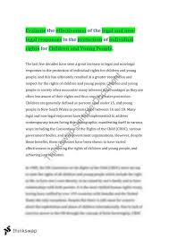 children and young people essay year hsc legal studies children and young people essay