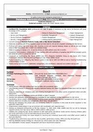 Sql Resume Example PL SQL Developer Sample Resumes Download Resume Format Templates 46