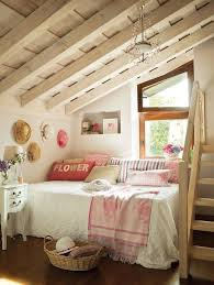 I'm dreaming of making our attic at the Blue Cottage a usable room.  Wouldn't it be lovely to wake up in one of these dreamy cottage attic  bedrooms?