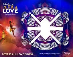 Correct Beatles Love Cirque Du Soleil Seating Chart Love