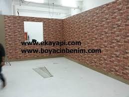 Duvar kağıdı özellikle su bazlı ve plastik boyalı zeminlerde çok rahat kaplanabilir. Ahsap Ustune Duvar Kagidi Yapilirmi