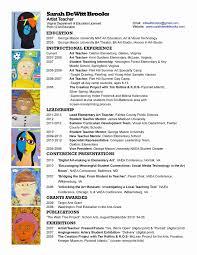 Digital Resume Format New 46 Awesome S Artist Resume Format Resume