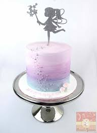 Fairy Birthday Cake With Water Colour Effect Wwwrameesyummiescom