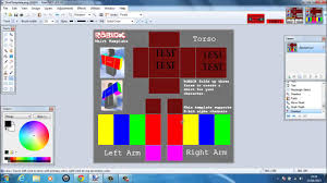 How To Make A Roblox Shirt On Paint Net Roblox 2013 How To Make A Shirt Transparent Paint Net W