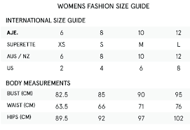 Alice Mccall Size Chart Aje Ainsley Dress