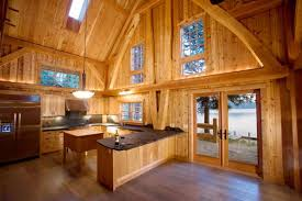 post beam construction.  Beam A Timber Frame Kitchen By Collin Beggs To Post Beam Construction