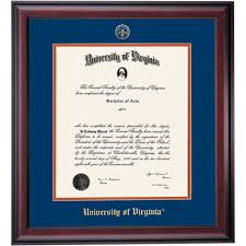 diploma frames diploma display ocm virginia school color traditional diploma frame