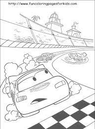 Cars Coloring Sheets 子供塗り絵 塗り絵