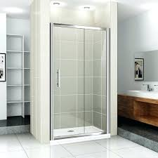 the variations of sliding shower doors for modern people door medium with installation cost ideas 10