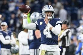 Dallas Cowboys At T Stadium Seating Chart Dallas Cowboys Qb Dak Prescott Passes Team To Win Over