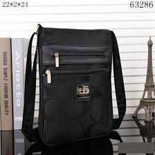 Have a sense of fashion Coach Legacy Swingpack In Signature Large Black Crossbody  Bags 10007