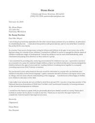Examples Of Cover Letters Generally 5 Job Letter Template First