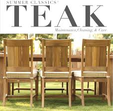 summer classics teak is made of the highest quality slow growth plantation raised teak teak
