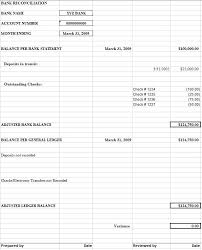 Bank Reconciliation Template 6 Free Bank Reconciliation Amazing Template Example