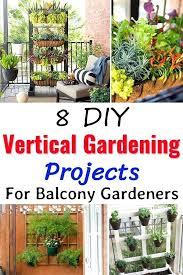 vertical garden plants list this list of 8 vertical garden projects is suitable for balcony gardeners