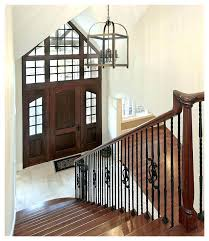 rustic entryway lighting glamorous rustic foyer lighting foyer chandeliers in entry farmhouse with vintage lighting next to regarding rustic